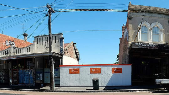 Historic Collingwood Facade Wrecked by Developer
